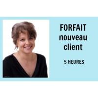 Forfait Nouveau client - 5 heures